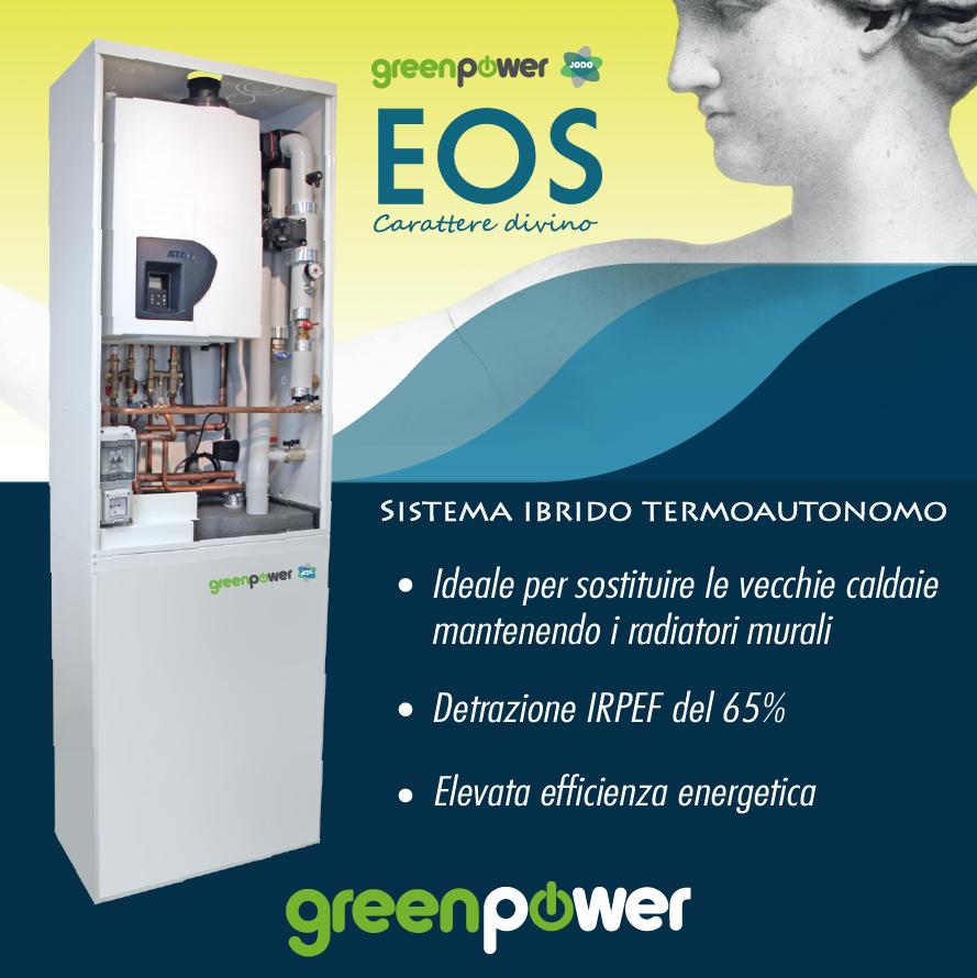 EOS sistema ibrido termoautonomo